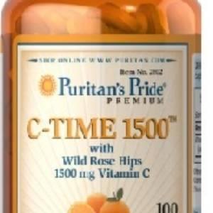Vitamin C-1500 mg avec Rose Hips