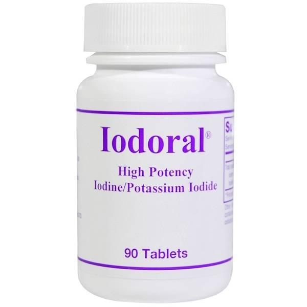 Iodoral® Supplément d'iodee
