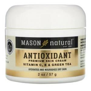Crème pour la peau antioxydante de qualité supérieure, vitamine C, E et thé vert