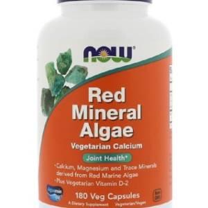 Algue minérale rouge